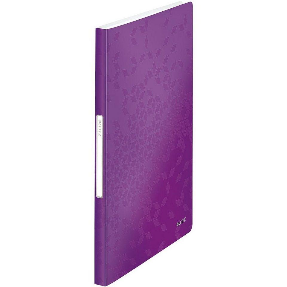 Leitz Präsentations-Sichtbuch »WOW« in violett metallic