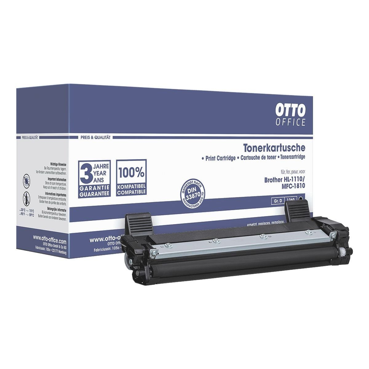 OTTO Office Standard Toner ersetzt Brother »TN1050«