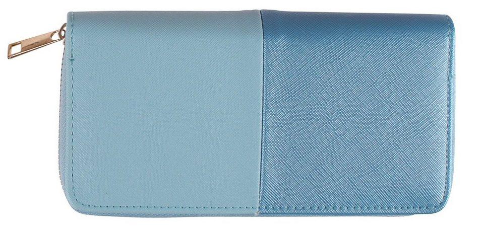 Highlight Company Geldbörse in blue tones