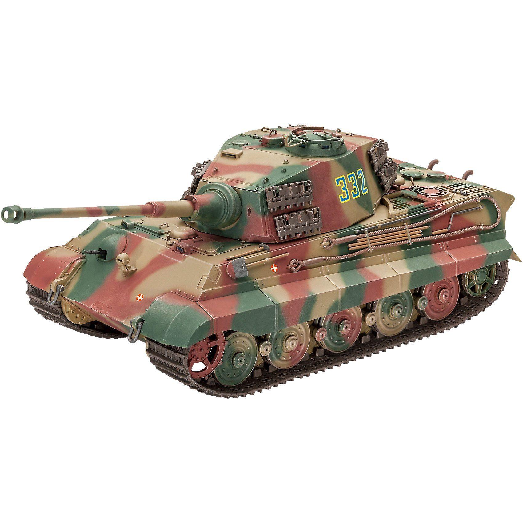 Revell® Tiger II Ausf.B(Henschel Turret)