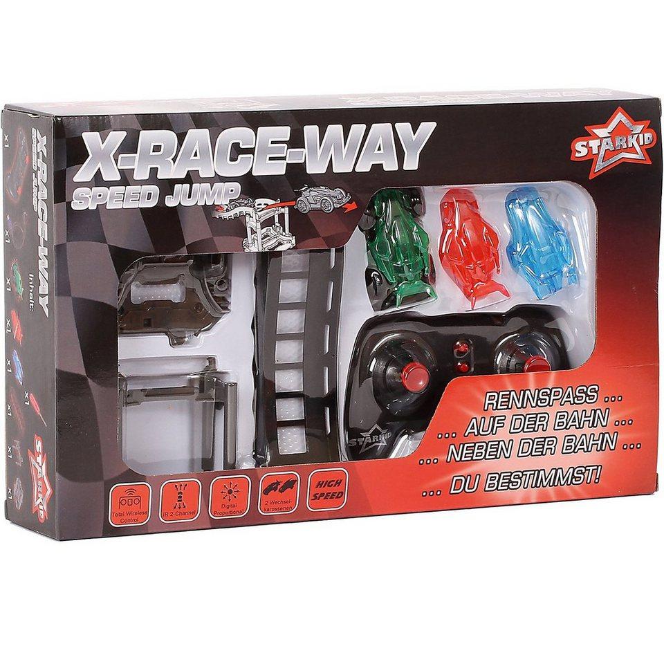 Starkid X-Race Way Zubehörset Sprungschanze Speed Jump