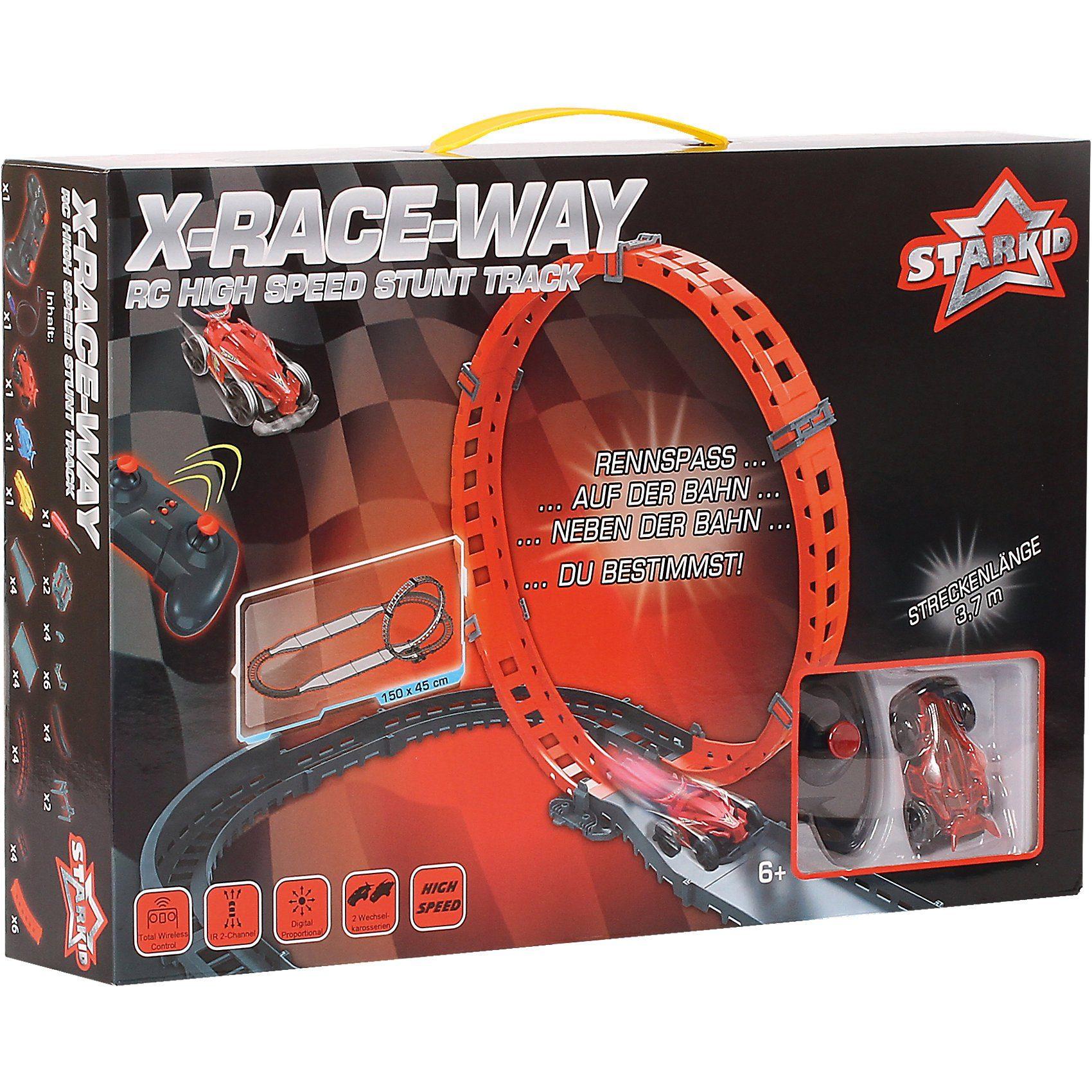 Starkid X-Race Way Rennbahn klein