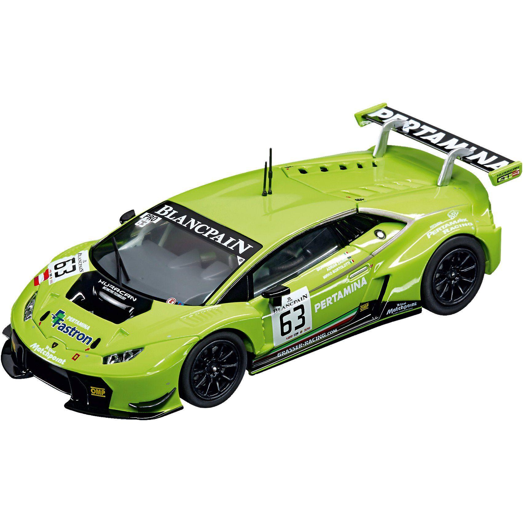 """Carrera Digital 132 30765 Lamborghini Huracán GT3 """"no. 63"""""""