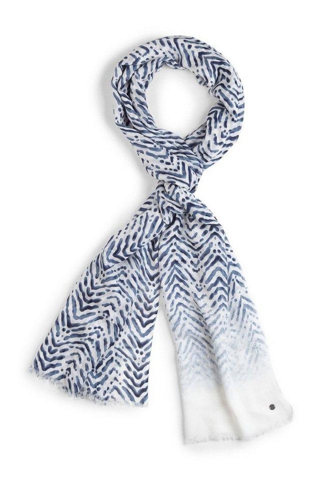 BRAX Damenschal Tuch »JANINE« in BLUE SMOKE