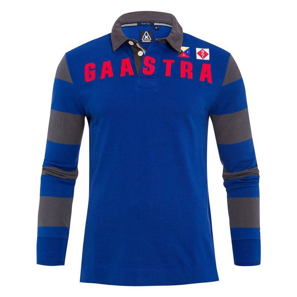 Gaastra Rugbyshirt in blau