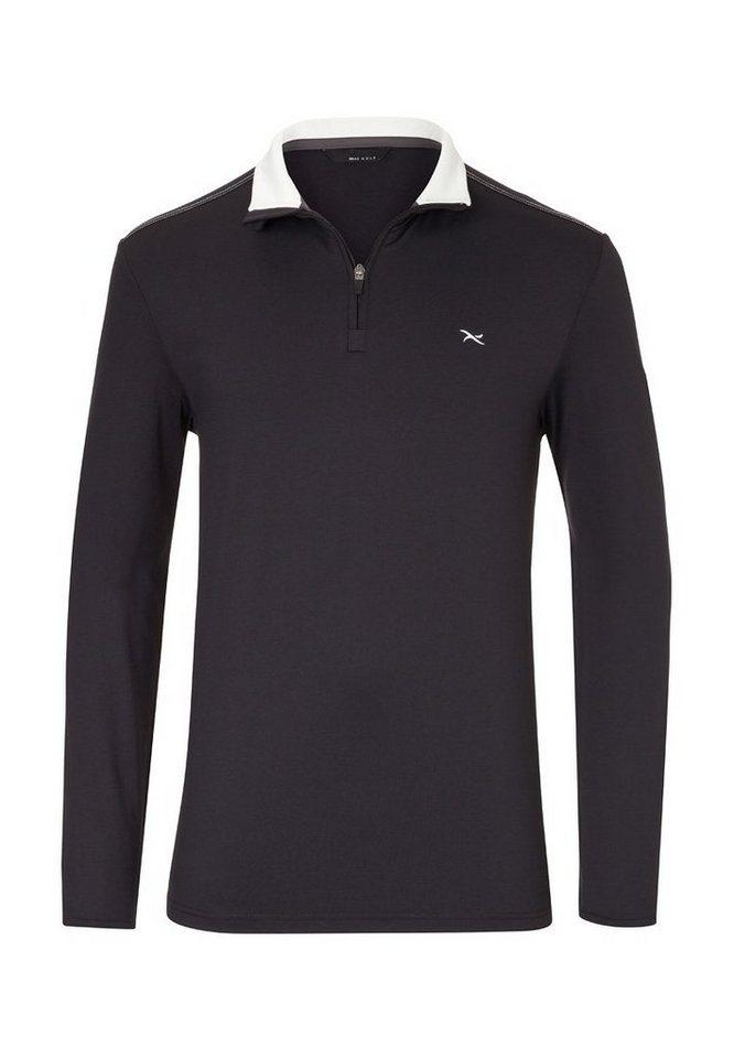 BRAX GOLF Herrenshirt Golf »TORE« in BLACK