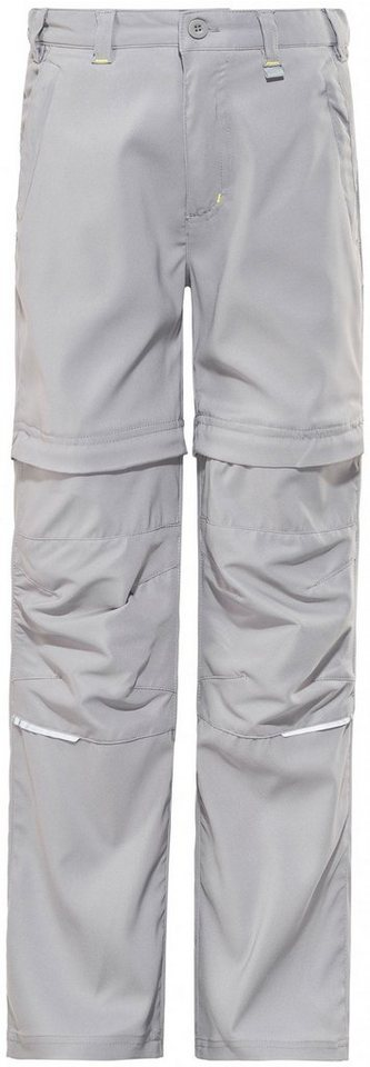 Regatta Hose »Heathtek Stretch Zip-Off Trousers Kids« in grau