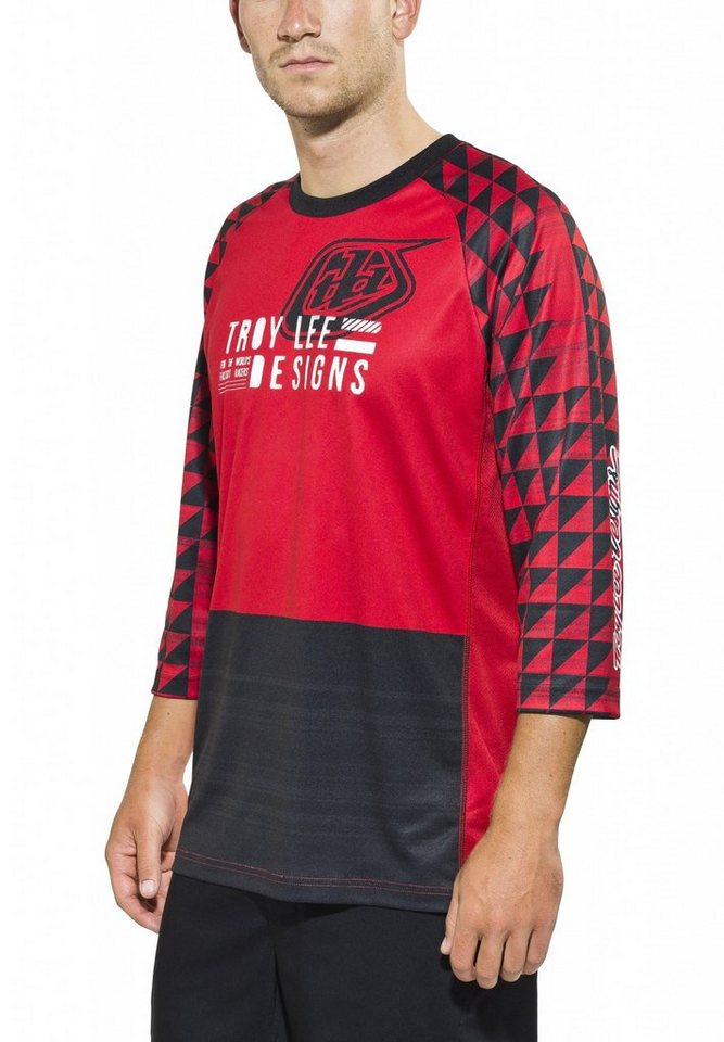 Troy Lee Designs Radtrikot »Ruckus Jersey Men« in rot