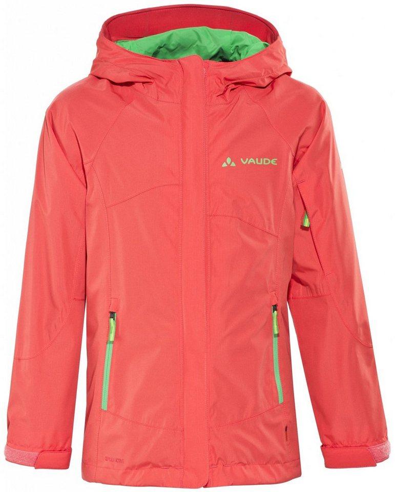 VAUDE Outdoorjacke »Leni Jacket Girls 2L« in pink