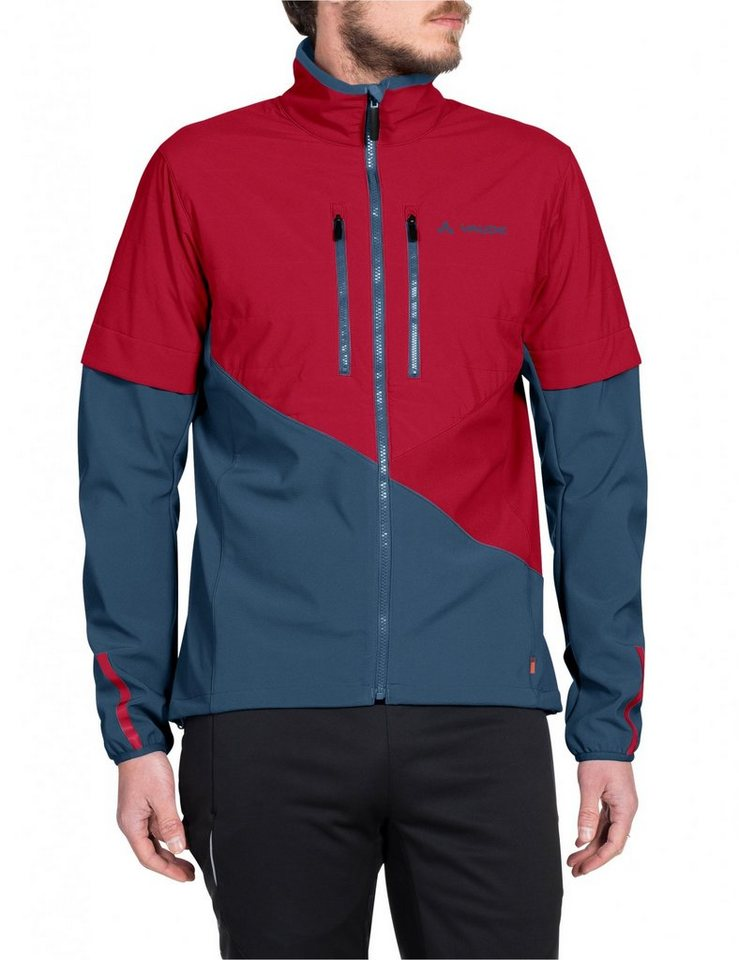 VAUDE Radjacke »Primasoft Jacket Men« in rot