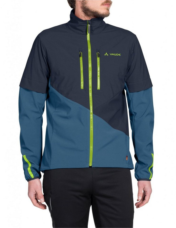 VAUDE Radjacke »Primasoft Jacket Men« in blau