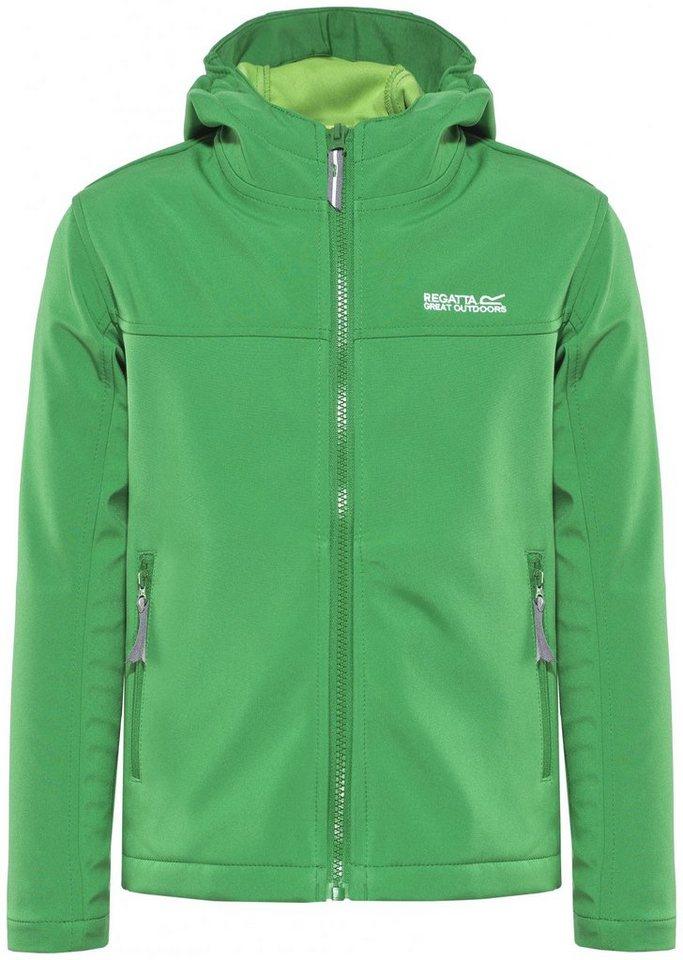 Regatta Outdoorjacke »Tyson II Jacket Kids« in grün