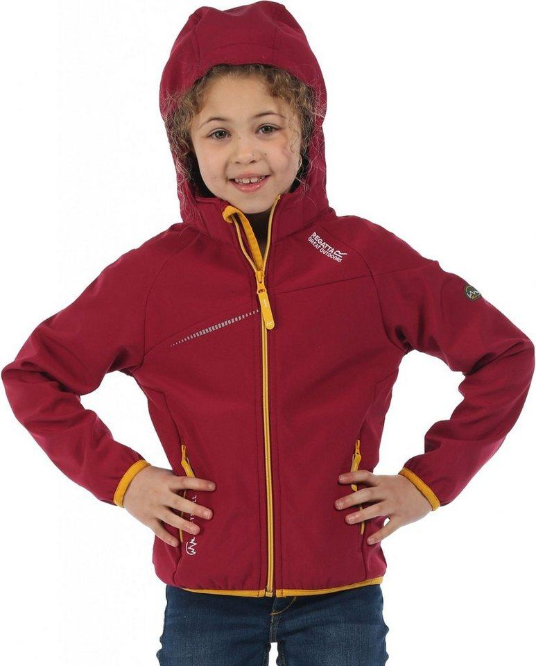 Regatta Outdoorjacke »Hydronic Softshell Jacket Kids« in rot