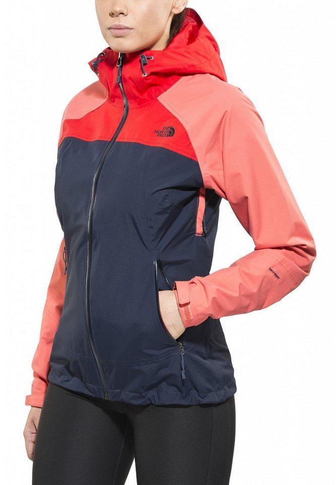 The North Face Regenjacke »Stratos Jacket Women« in blau