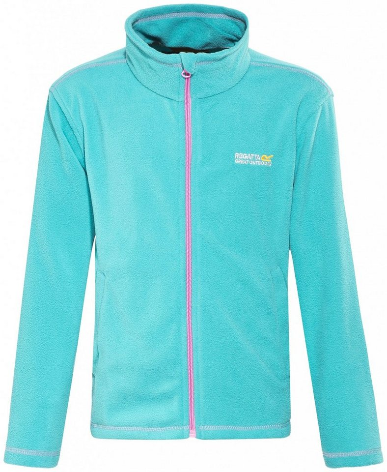 Regatta Outdoorjacke »King Fleece II Jacket Kids« in türkis