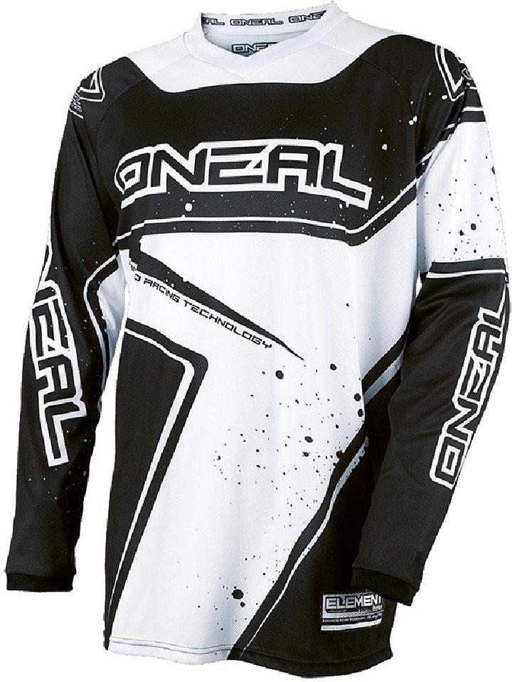 O'NEAL Radtrikot »Element Racewear Jersey Youth« in schwarz