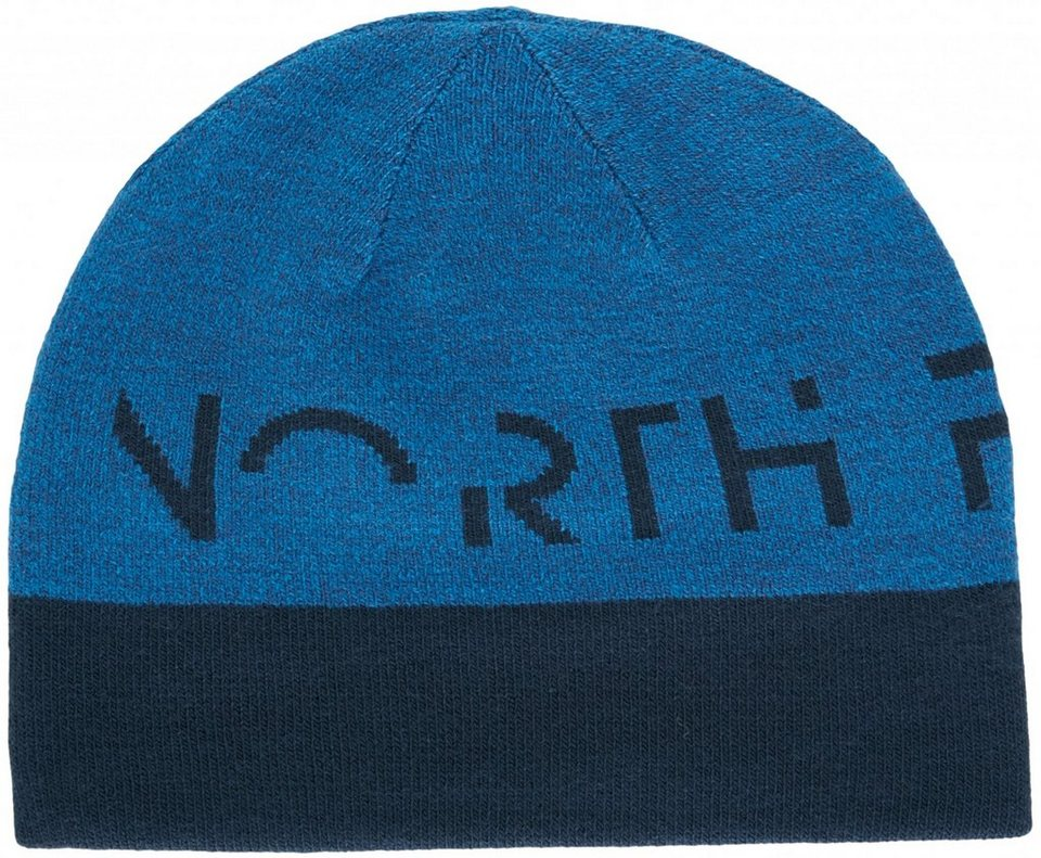 The North Face Hut »Reversible TNF Banner Beanie Unisex« in blau