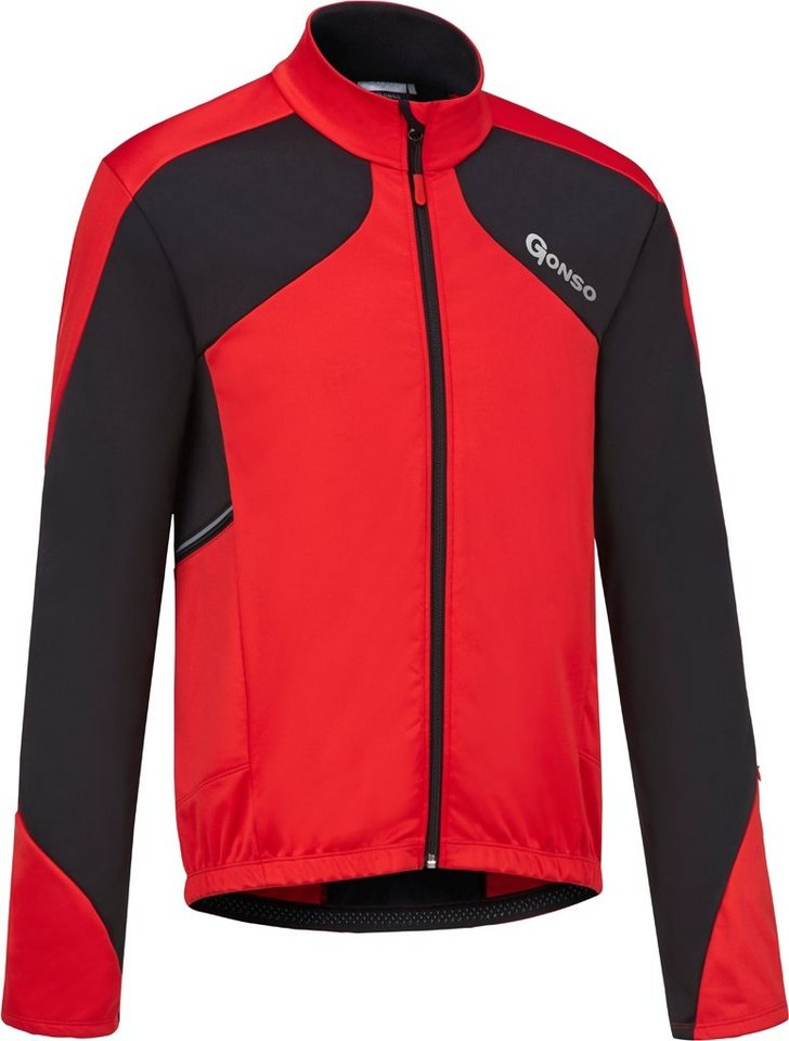 Gonso Radjacke »East Thermo Active Jacke Herren« in rot