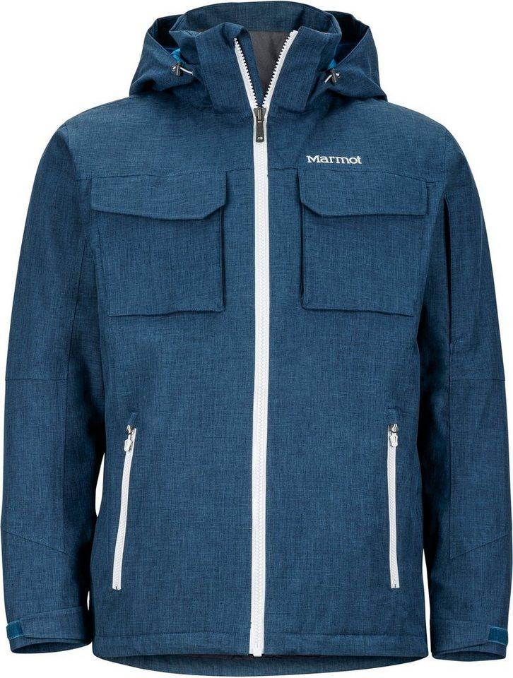 Marmot Regenjacke »Whitecliff Jacket Men« in blau