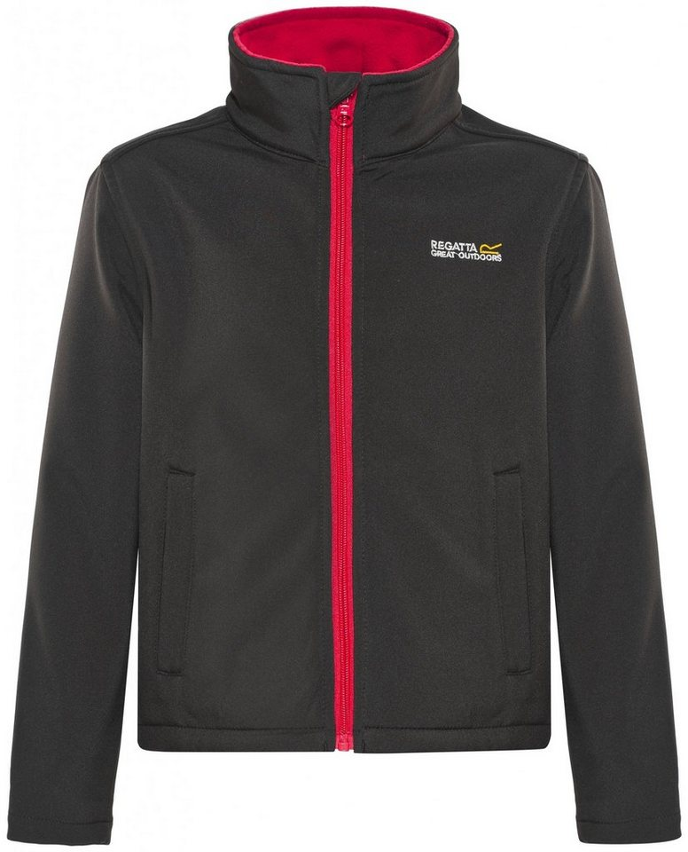 Regatta Outdoorjacke »Canto III Jacket Kids« in schwarz