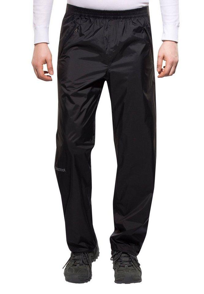 Marmot Outdoorhose »PreCip Full Zip Pant Men« in schwarz