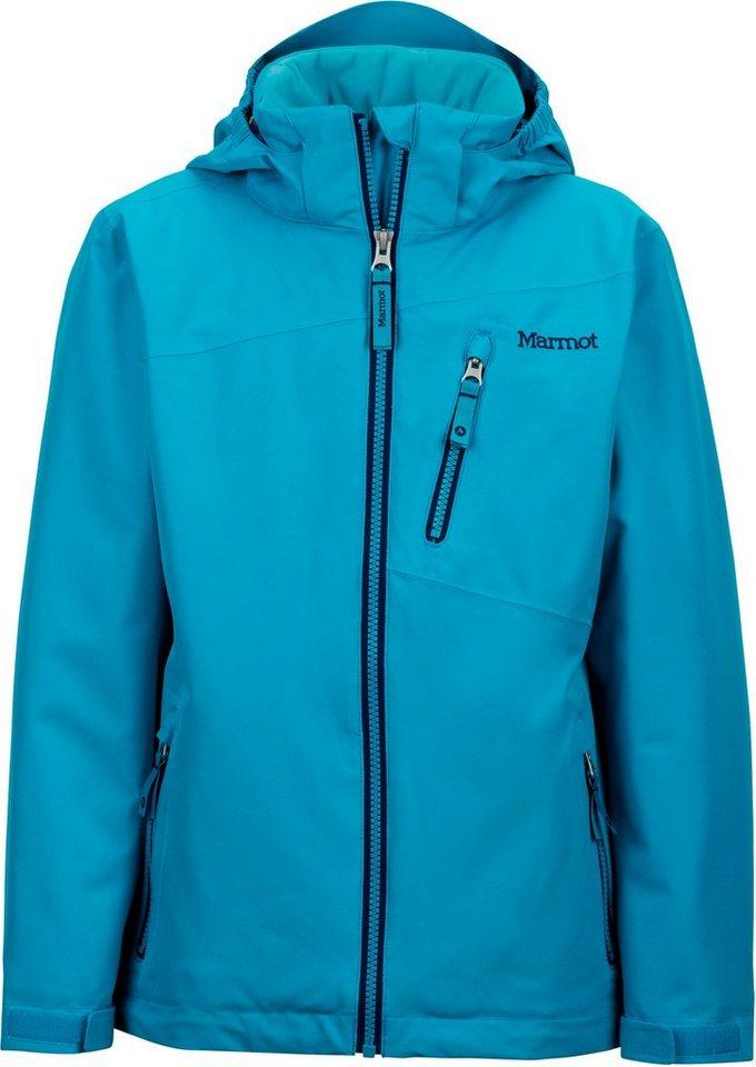 Marmot Outdoorjacke »Free Skier Jacket Girls« in türkis