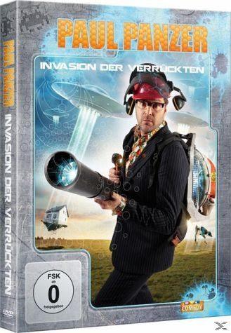 DVD »Paul Panzer - Invasion der Verrückten Limited...«