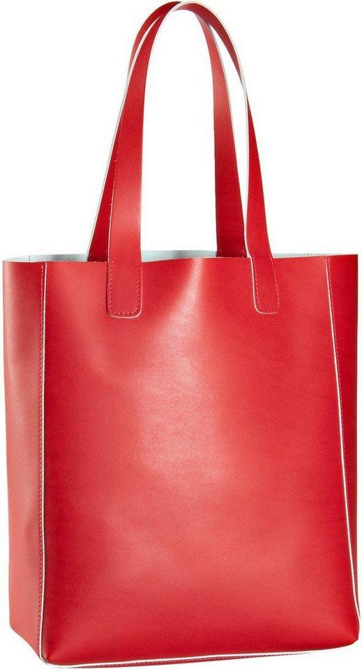 abro Ruga Shopper in Red/White