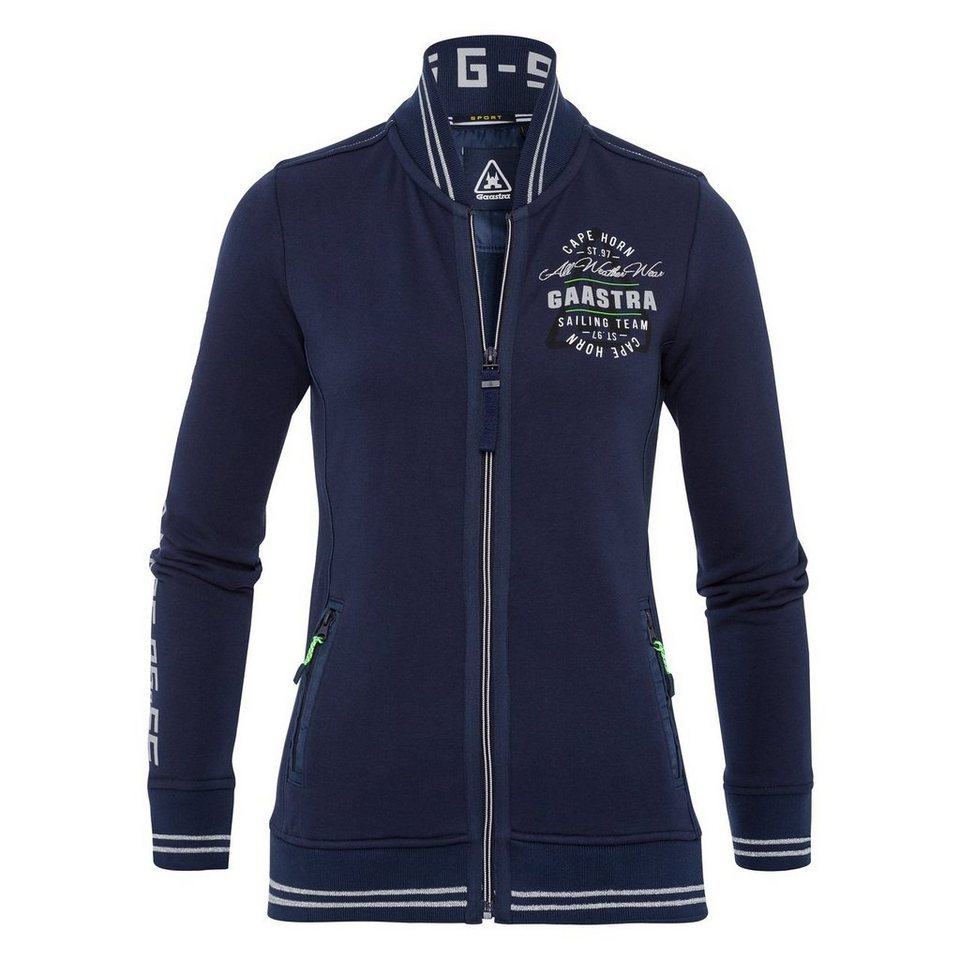 Gaastra Kapuzensweatjacke in navy