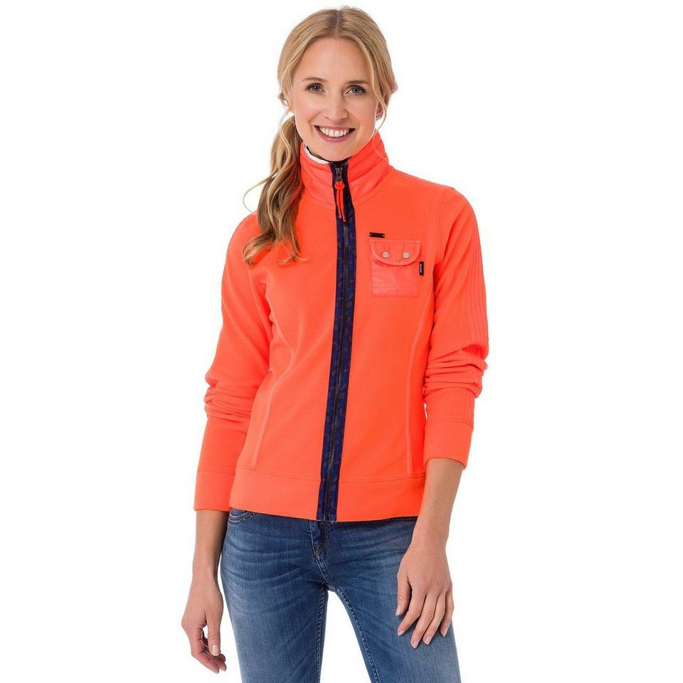 Gaastra Fleecejacke in orange