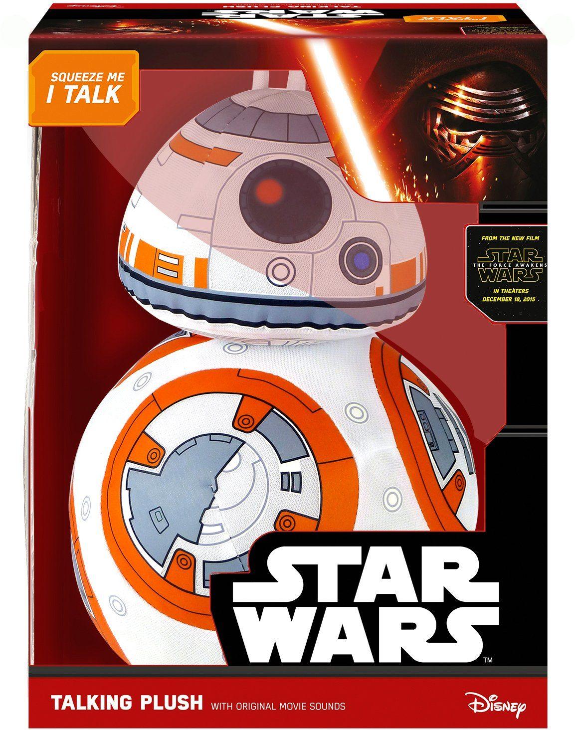 Plüschfigur mit Sound, »Disney Star Wars™, Deluxe, BB8, ca. 38 cm«