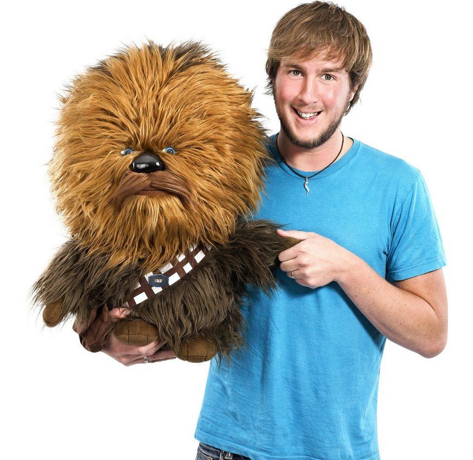 Plüschfigur mit Sound, »Disney Star Wars™, Super Deluxe, Chewbacca, ca. 60 cm« in braun