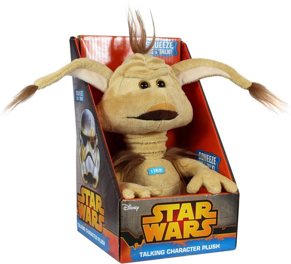 Plüschfigur mit Sound, »Disney Star Wars™ Collectors Edition, Salacious Crumb, ca. 23 cm« in Farbig