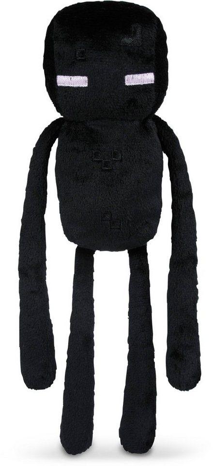 Plüschfigur, »Minecraft, Endermann, ca. 25 cm« in Farbig