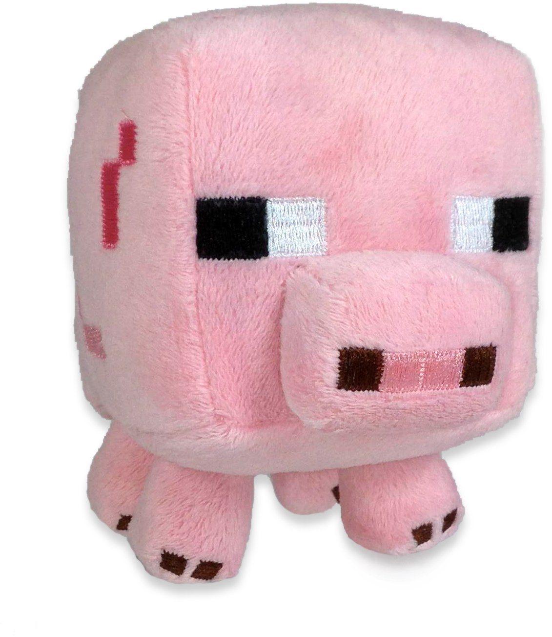 Plüschtier, »Minecraft, Schwein, ca. 15 cm«