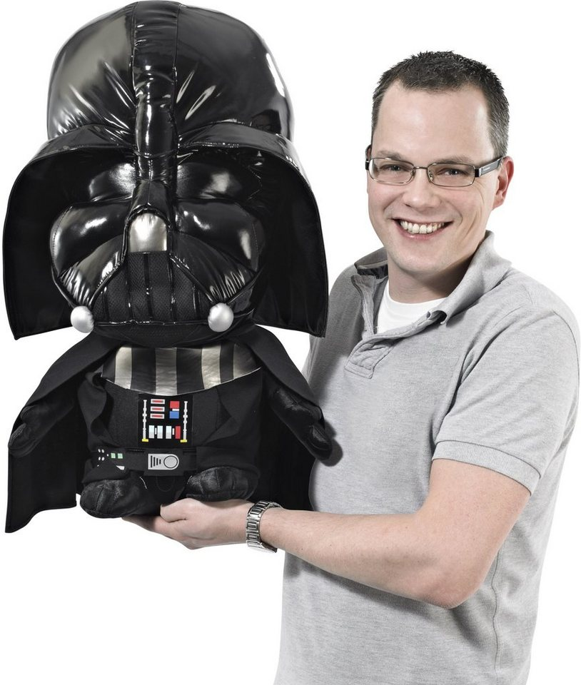 Plüschfigur mit Sound, »Disney Star Wars™, Super Deluxe, Darth Vader, ca. 60 cm« in Farbig