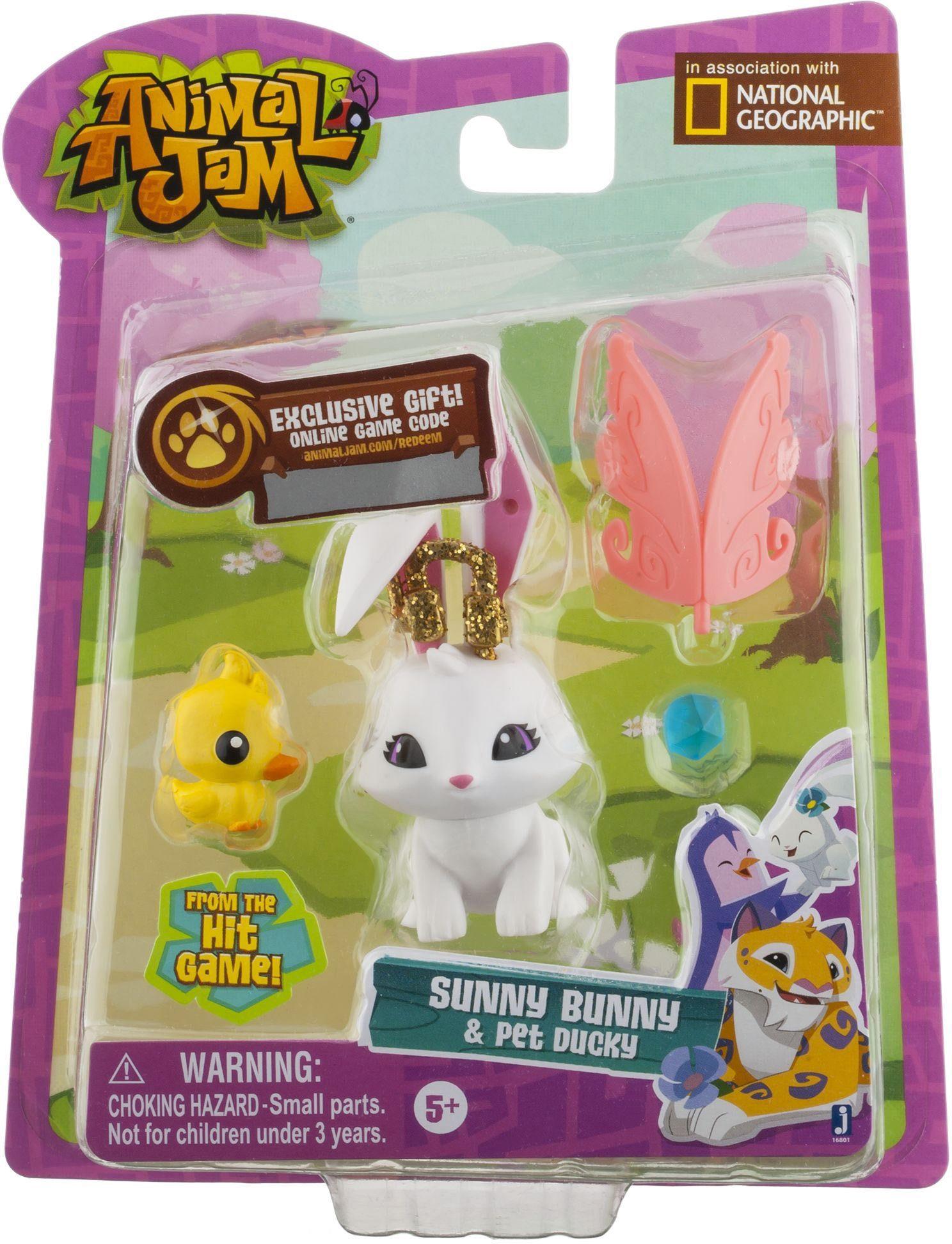 Spielfigur, »Animal Jam, Bunny mit Accessoires«