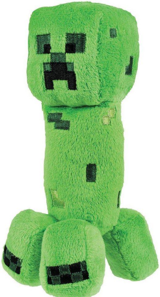Plüschfigur, »Minecraft, Creeper Serie 1, ca. 18 cm« in grün