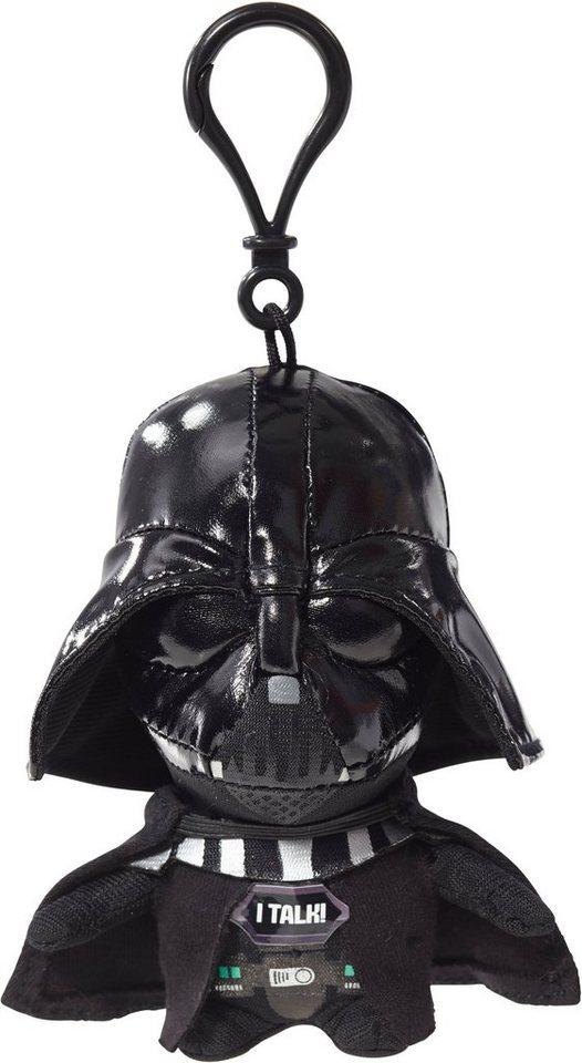 Plüschfigur mit Sound und Anhänger, »Disney Star Wars™, Darth Vader, ca. 10 cm« in Farbig