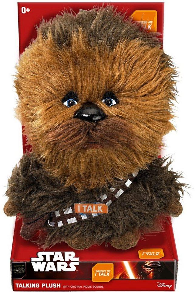 Plüschfigur mit Sound, »Disney Star Wars™, Premium, Chewbacca, ca. 30 cm« in braun