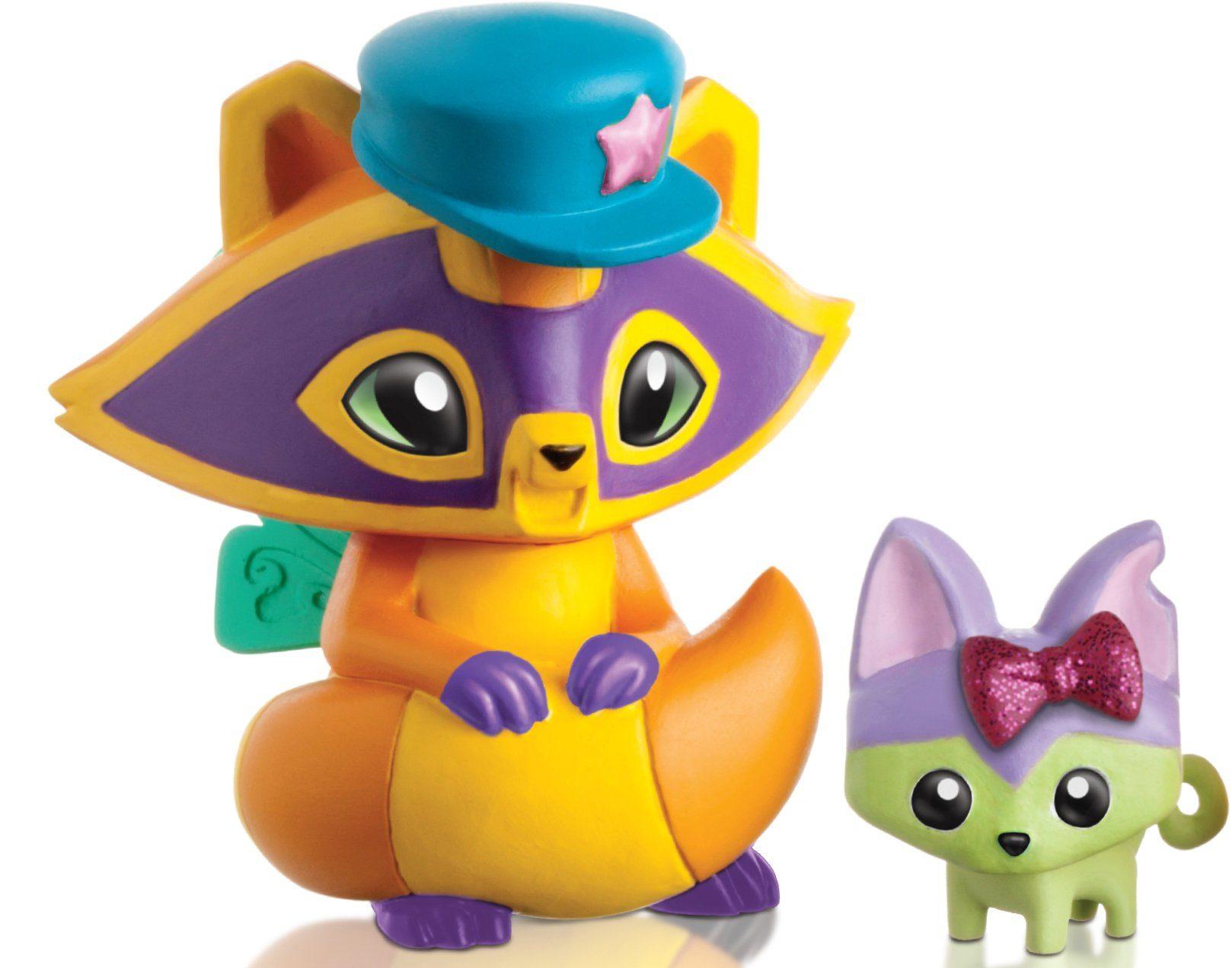 Spielfigur, »Animal Jam, Waschbär mit Accessoires«