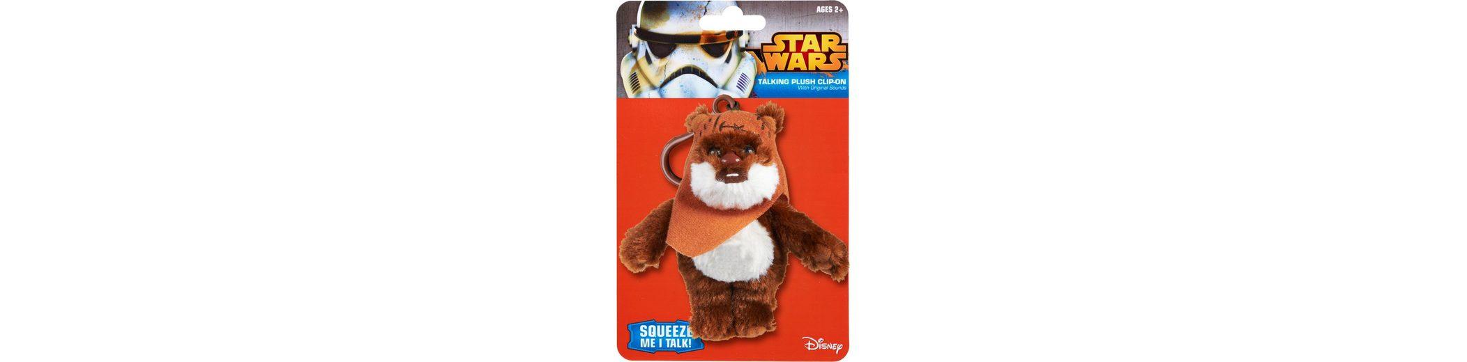 Plüschfigur mit Sound und Anhänger, »Disney Star Wars™, Ewok Wicket, ca. 12 cm«