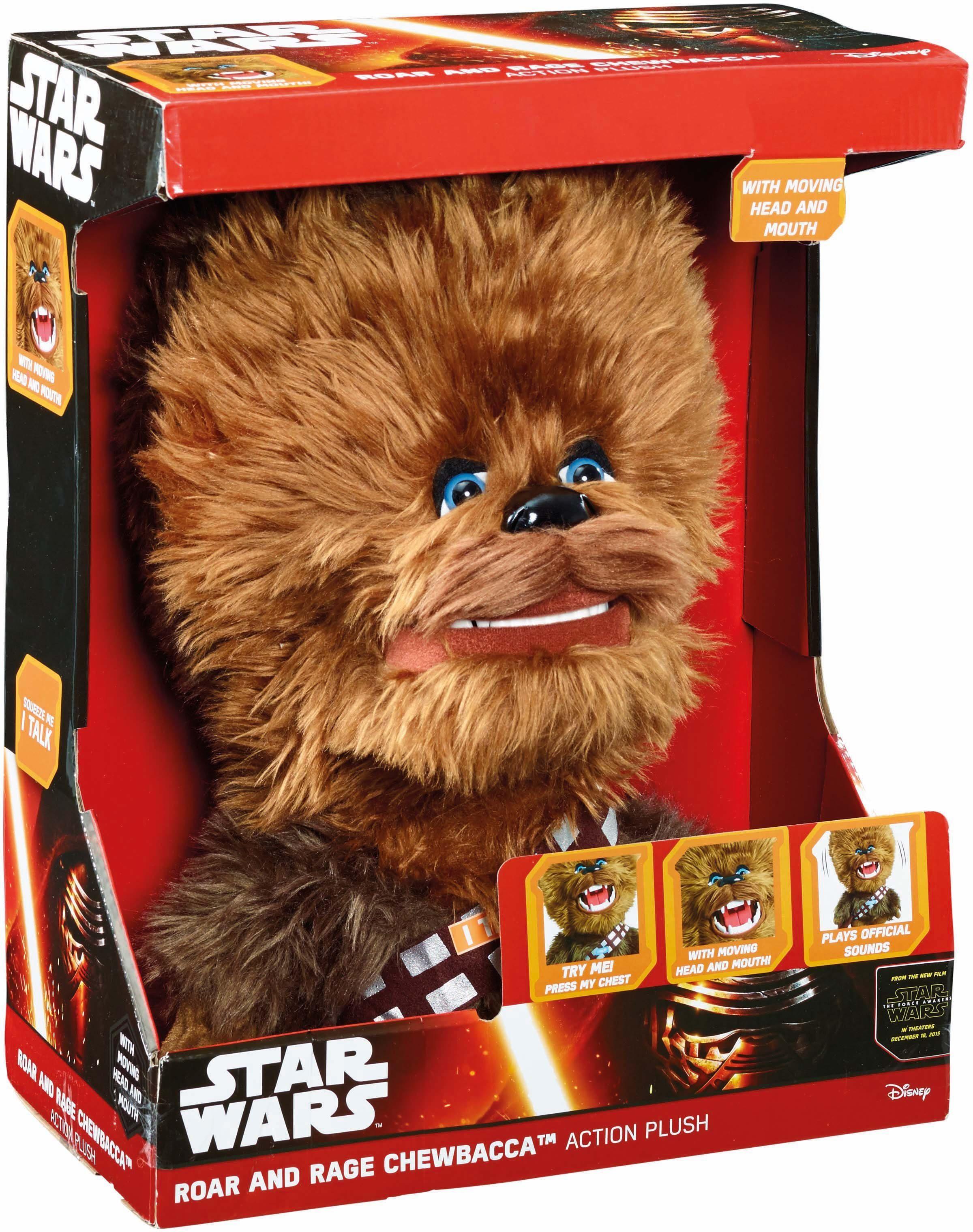 Plüschfigur mit Funktion, »Disney Star Wars™, Roar & Rage Chewbacca, ca. 35 cm«