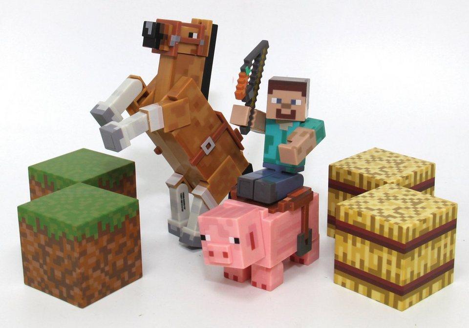 Spielfiguren Set, »Minecraft, Saddle Pack«