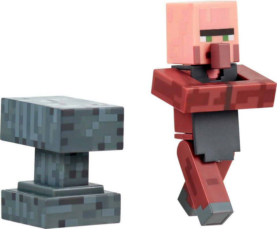 Spielfigur, »Minecraft, Serie 2, Villager Schmied mit Accessoire«