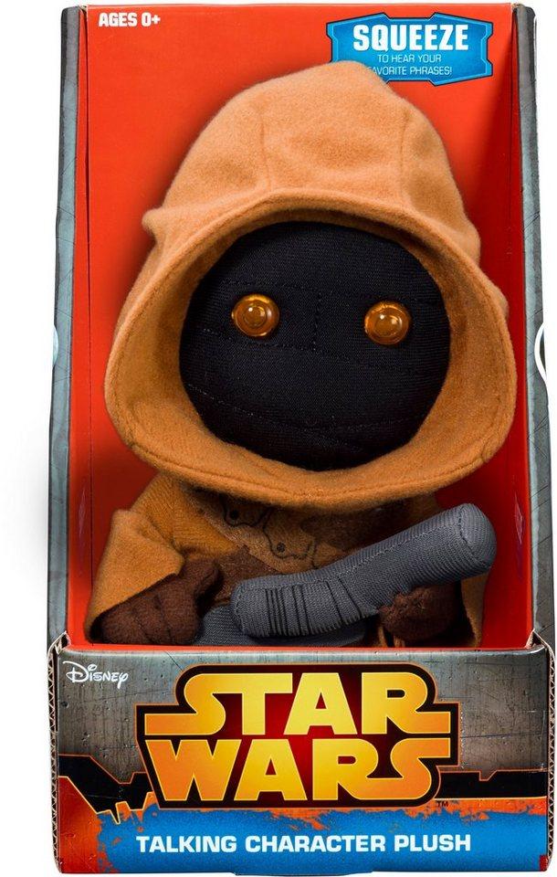 Plüschfigur mit Licht und Sound, »Disney Star Wars™, Collectors Edition, Jawa, ca. 23 cm« in farbig