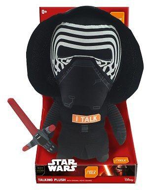 Plüschfigur mit Sound, »Disney Star Wars™, Premium, Kylo Ren, ca. 30 cm« in farbig