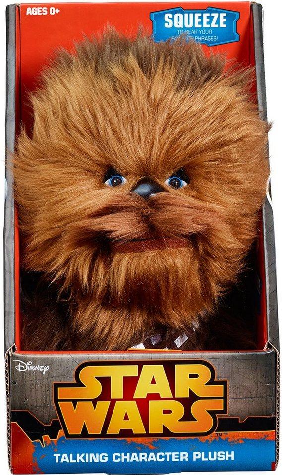 Plüschfigur mit Sound und Anhänger, »Disney Star Wars™, Chewbacca, ca. 10 cm« in braun