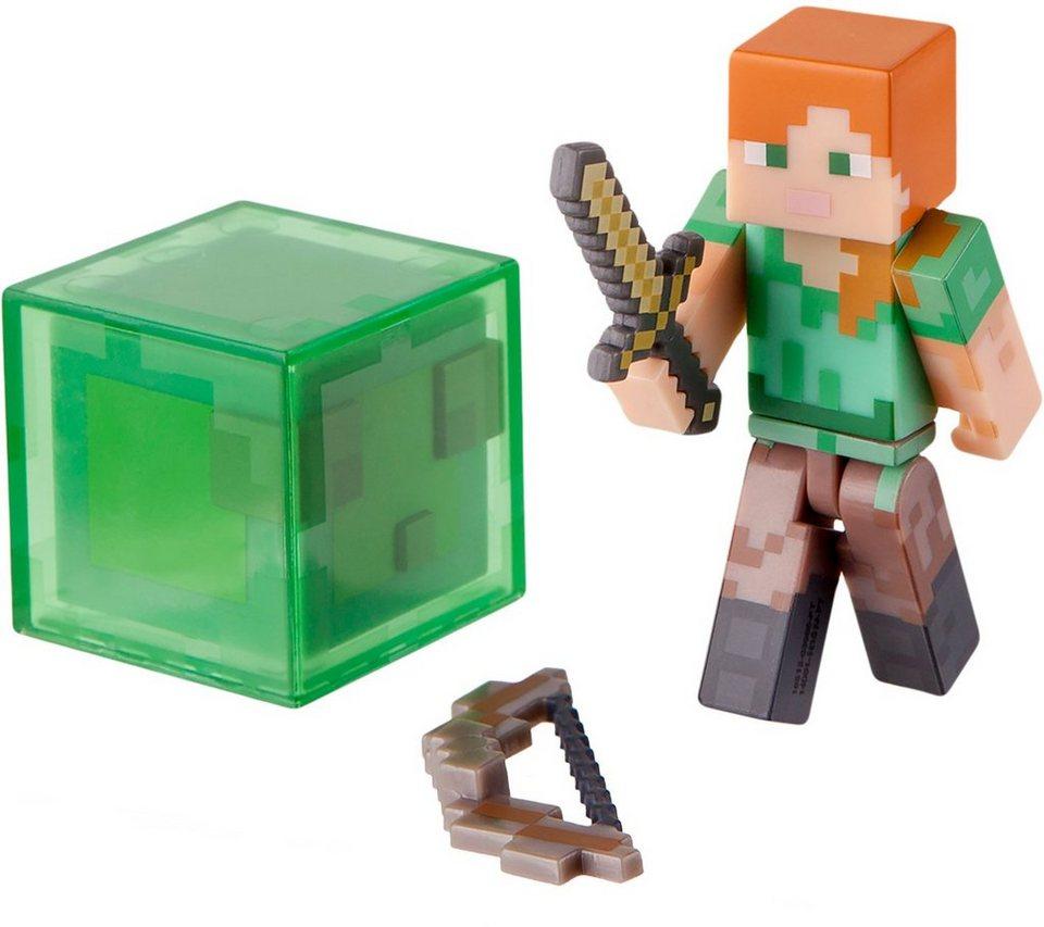 Spielfigur, »Minecraft, Figur Alex mit Accessoire«