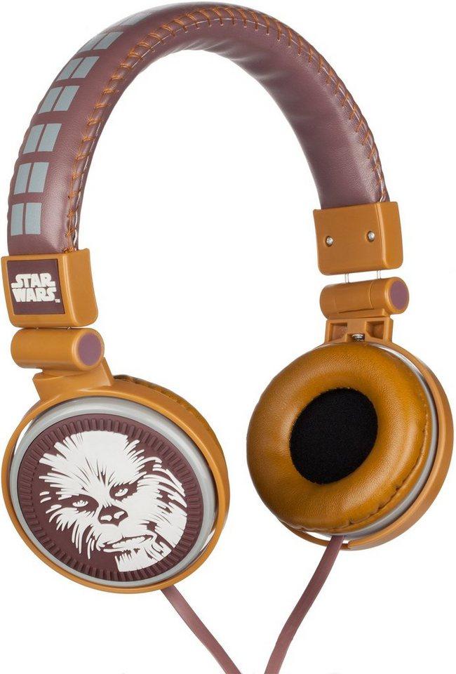 Kopfhörer, »Disney Star Wars™, Chewbacca« in gold/braun
